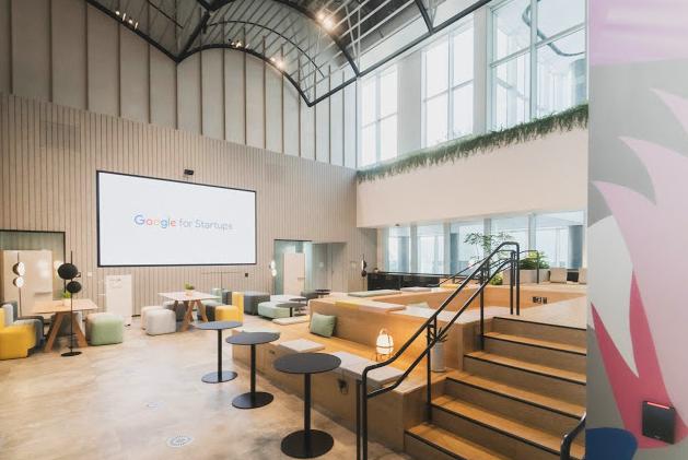渋谷ストリームのGoogle for startup campus