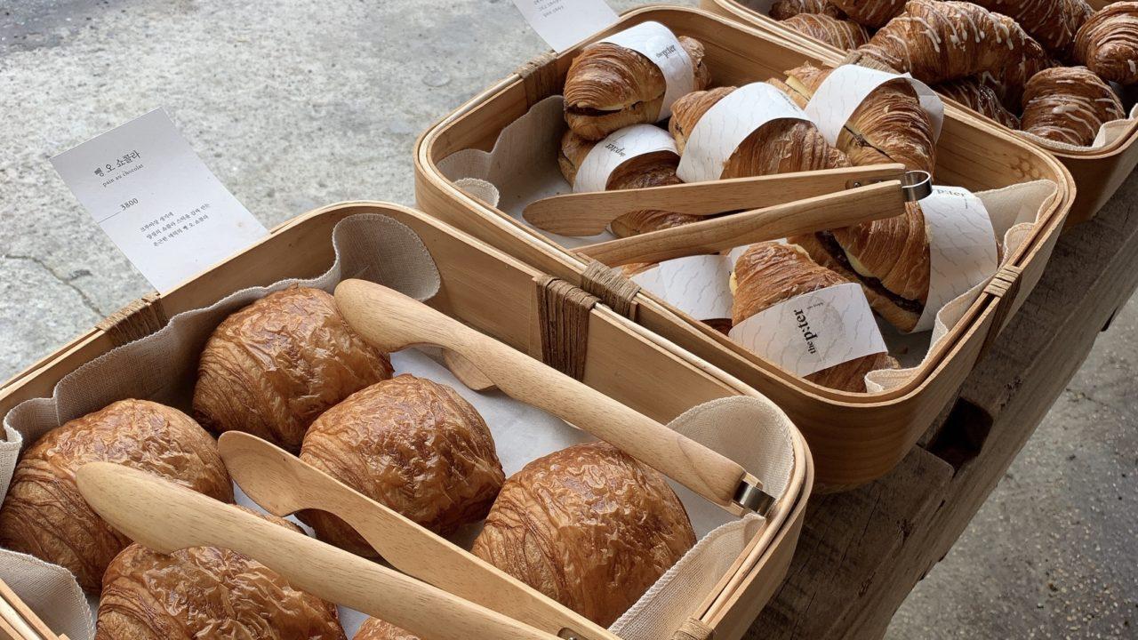 韓国まで来てパン食べる価値あり!The p:ter coffee のパンが美味しすぎてびっくり。
