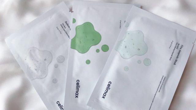 SNSで話題の韓国スキンケアブランド・celimax のシートマスクパック全3種類を徹底比較&レビュー!