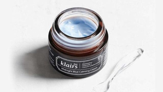 青い鎮静クリーム!? Klairs(クレアス)「ミッドナイトブルーカミングクリーム」の特徴と実際の使用感をレビュー♪