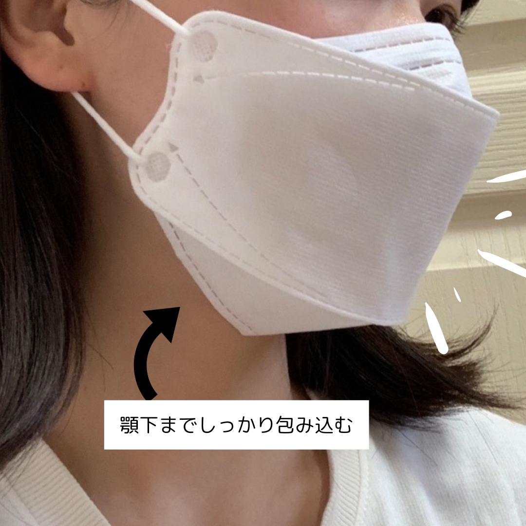 KF94マスク着用画