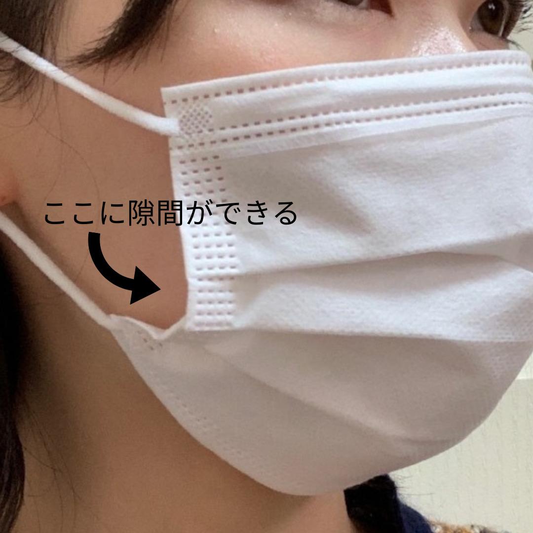 ジャバラタイプのマスク