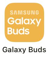 Galaxy buds アプリ