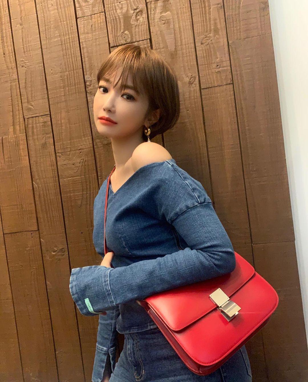 韓国 ショートにおすすめの前髪2
