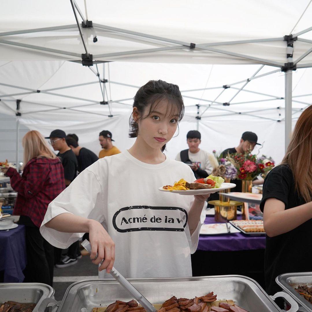 韓国 ポニーテールにおすすめの前髪1