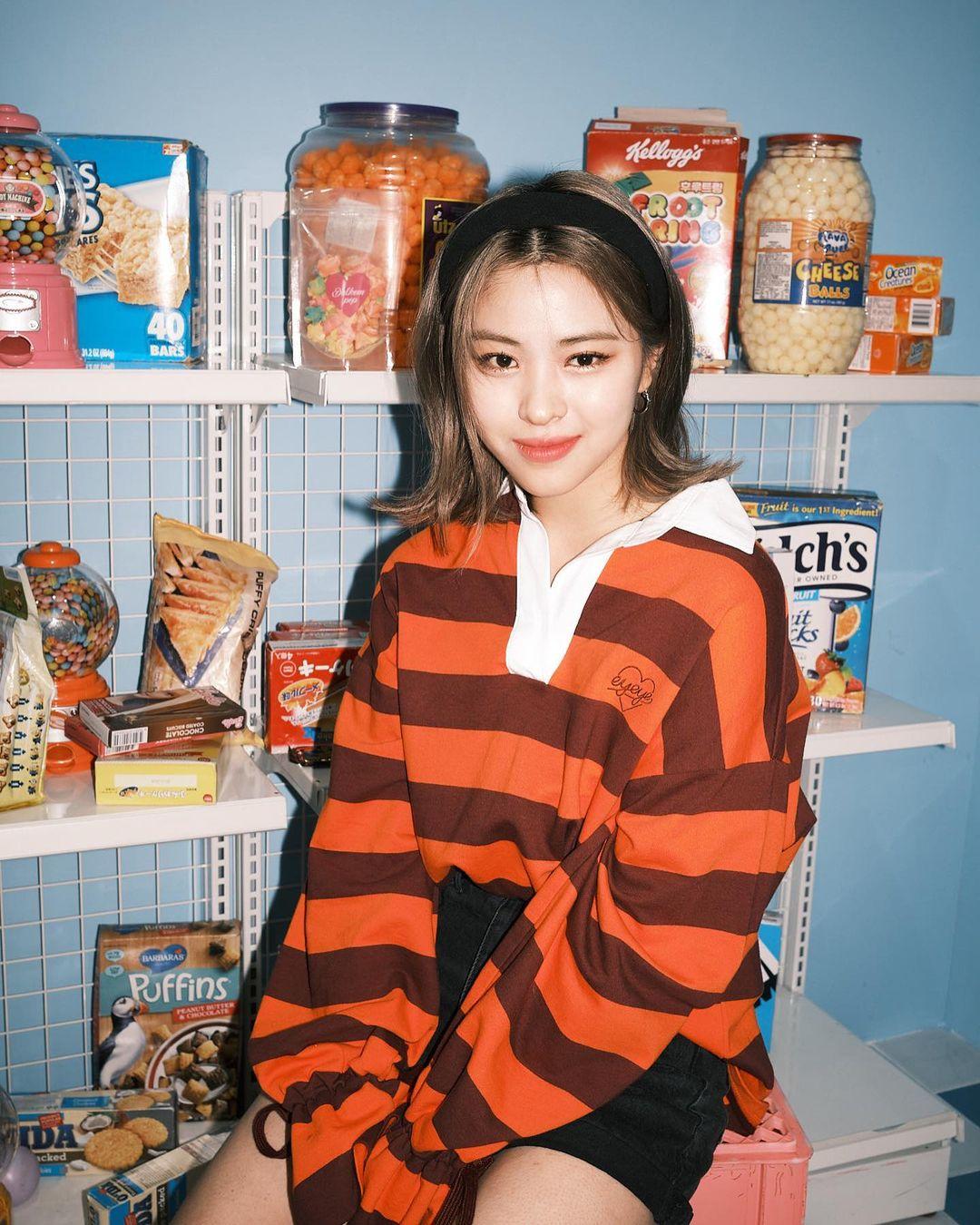 韓国 ミディアムにおすすめの前髪2