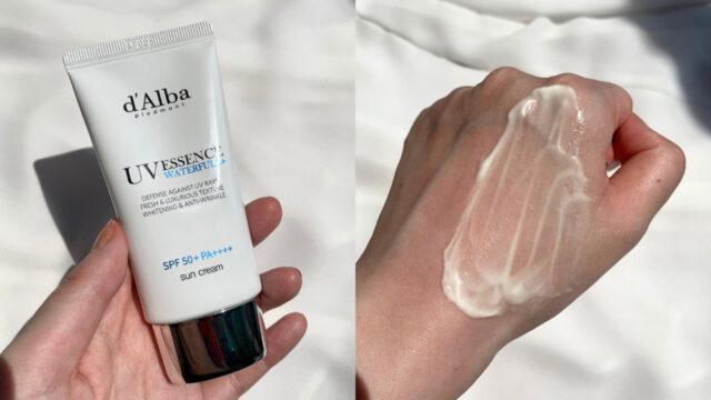 d'Alba(ダルバ)の日焼け止めでしっとり肌に♡成分や使用感を解説!
