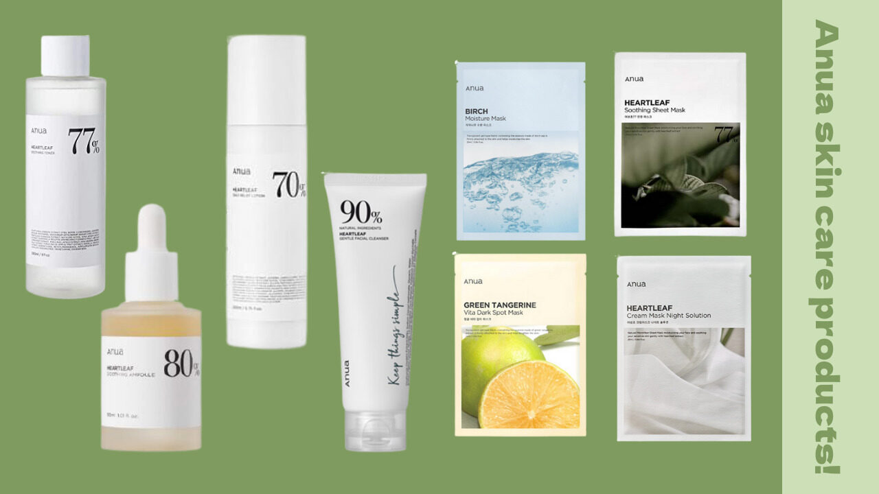 Anua(アヌア)化粧水、乳液、アンプルetc. おすすめアイテム5選♡