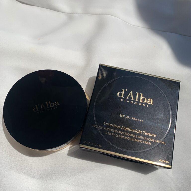 9月のお気に入り d'Alba(ダルバ) スキンフィット グラインディング セラムカバーパクト1